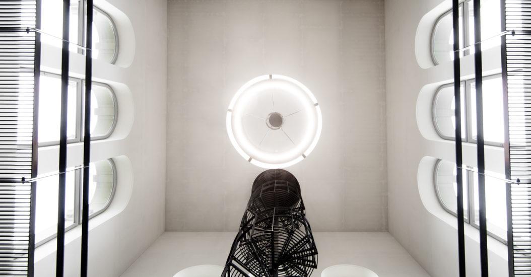 Wendeltreppe Licht