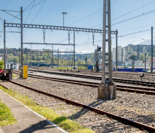 Bahnnetz Luzern SBB